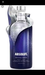 🚚 Absolut Vodka limited edition