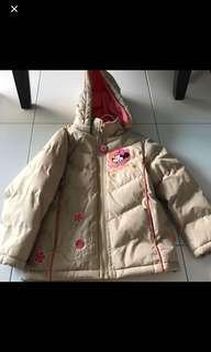 Disney girl winter jacket