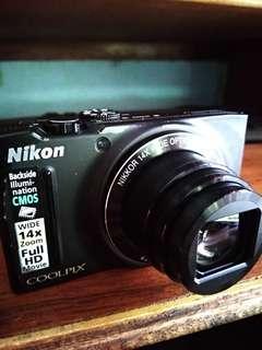 Kamera Nikon s8200 like new