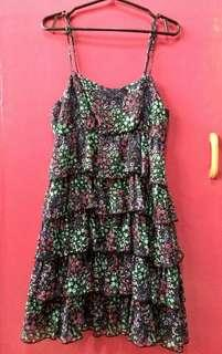 Divided by H&M Floral sexy dress