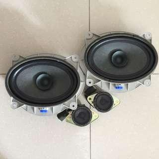 Original Harrier speakers