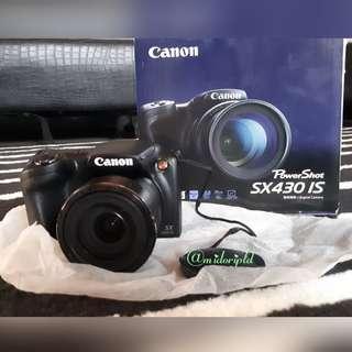 CAMERA CANON SX 430 IS