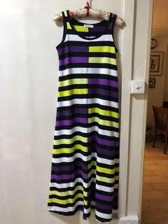 Long Striped Dress BN while stock last