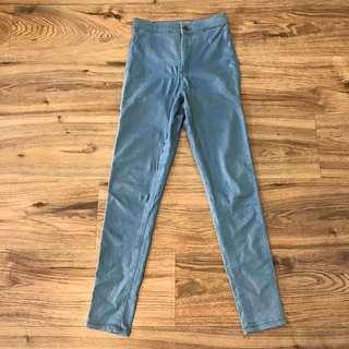 ⭐️Topshop Joni Jeans in light blue