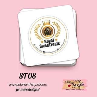 Corporate Tag/Sticker ST08