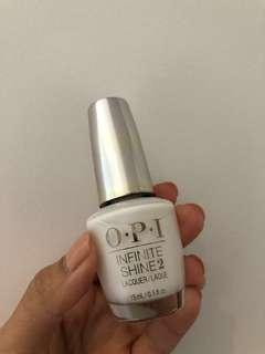 Opi Infinite Shine White Nail Polish