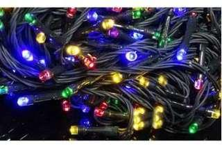 10meter Green Cable Battery Operated Multicolor Fairy Light