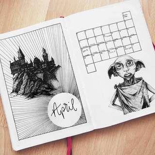 Harry Potter Customisable 2019 Journals