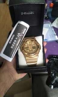 Casio gshock JA 5229 gold edition
