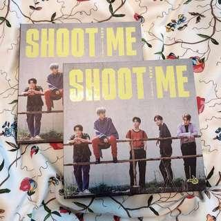 DAY6 SHOOT ME ALBUMS (UNSEALED + PHOTOCARDS SUNGJIN WONPIL YOUNG K)