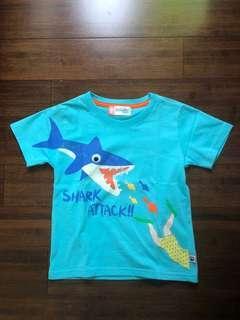 Big and Small shark shirt