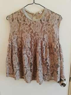 *New* Lace Top