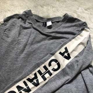 Sweater sweatshirt h&m hnm never miss a chance
