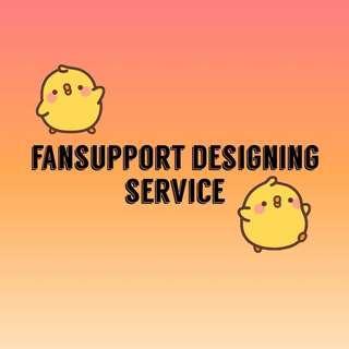 fansupport designing service!