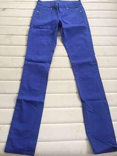 Uniqlo blue slim pants