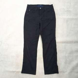 SOMETHING EDWIN SOFTJEANS SOLID BLACK STRETCH