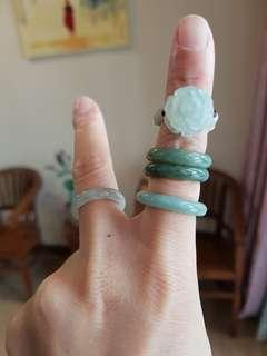 New Jadeite Jade 3D Ring