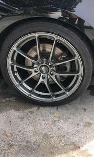 Oz Racing Leggera HLT 18 inch Rim