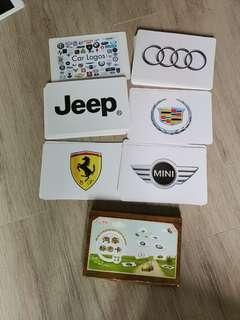 Car logo flashcards