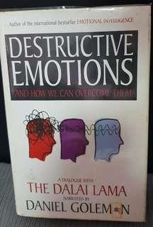 Destructive emotions and how we can overcome them