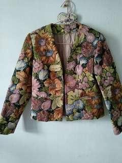 Tapestry blazer