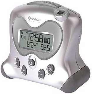 Oregon Scientific Projection Atomic Alarm Clock & Calendar