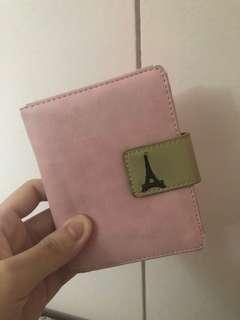 Pink Eiffel Wallet