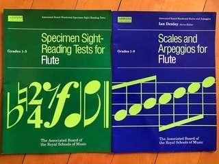 長笛 Flute 用書