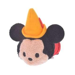 JAPAN LIMITED EDITION DISNEY TSUM TSUM MICKEY FILM COLLECTION - ORANGE HAT MICKEY
