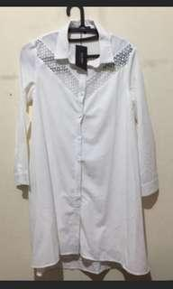 Zalora white dress(New)