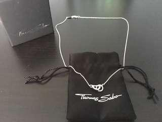 BNIB Thomas Sabo Necklace with Heart Shape Pendent