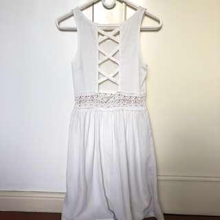 Hip Culture White Dress