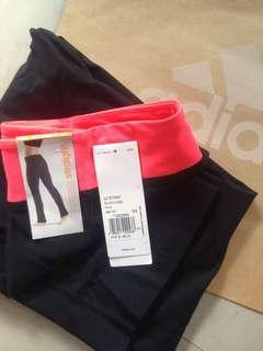 Adidas Flared Black Gym Pants