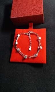 Sale~全新 S925 純銀 Sterling Silver 銀鏈 手鏈 Bracelet