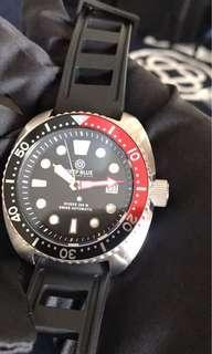 停產限量版Deepblue 全套 300米深潛 潛水錶