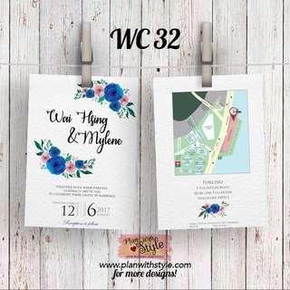 Wedding Card WC32