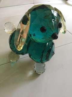 Green Crystal dog
