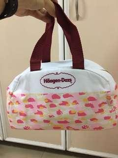Pink Cooler Insulation Bag