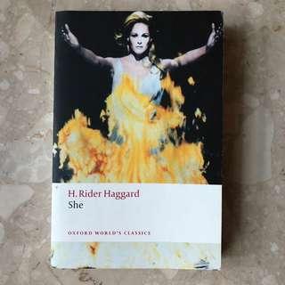She, H. Rider Haggard