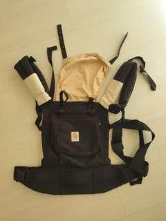 ERGOBABY ORIGINAL BABY CARRIER and TEETHING PADS