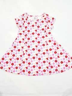 New. Dress anak perempuan xoxo pink *FIXPRICE *NONEGO