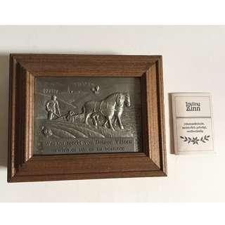 Vintage Frieling Zinn German Pewter Key Holder Box