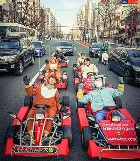 SALE! Osaka Akiba Go-Kart Experience