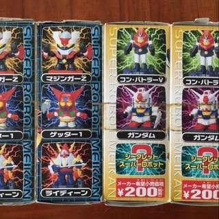 Super Robot 鐵甲萬能俠 高達 勇者 V型電磁俠 三一萬能俠