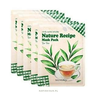 Nature recipe Mask Pack Tea Tree