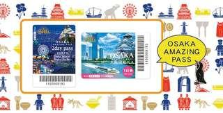 SALE! Osaka Amazing Pass (access to 37 attractions including Osaka Castle and unlimited rides within Osaka)