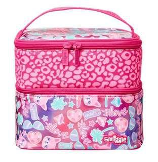 BN Smiggle Square Lunch Bag - Pink