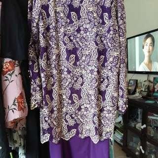 baju kurung modern lace