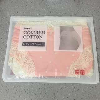 Miniso Combed Cotton Underwear