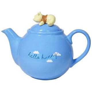 🚚 正版授權 日本 迪士尼 WINNIE THE POOH 維尼 小熊維尼 小熊茶壺 茶壺 手把壺
